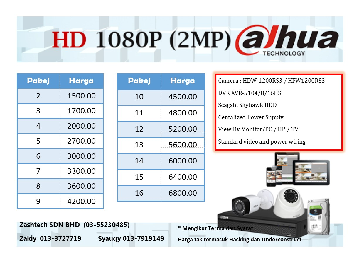 DAHUA package